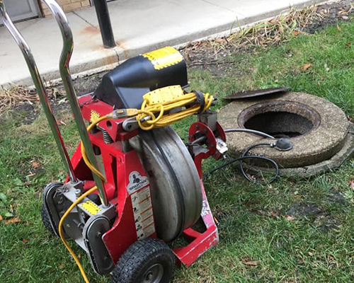 Tony's Drain power rodding services in St. Charles